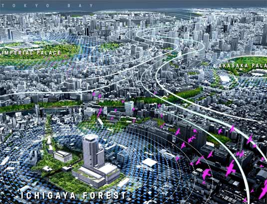 "VISION: Ichigaya Forest will be a link in a larger ecological network enhancing biodiversity in the region and bolstering Tokyo's ""Wind Path Project"", initiated to return favorable wind patterns into the city and mitigate measurable heat-island effect."