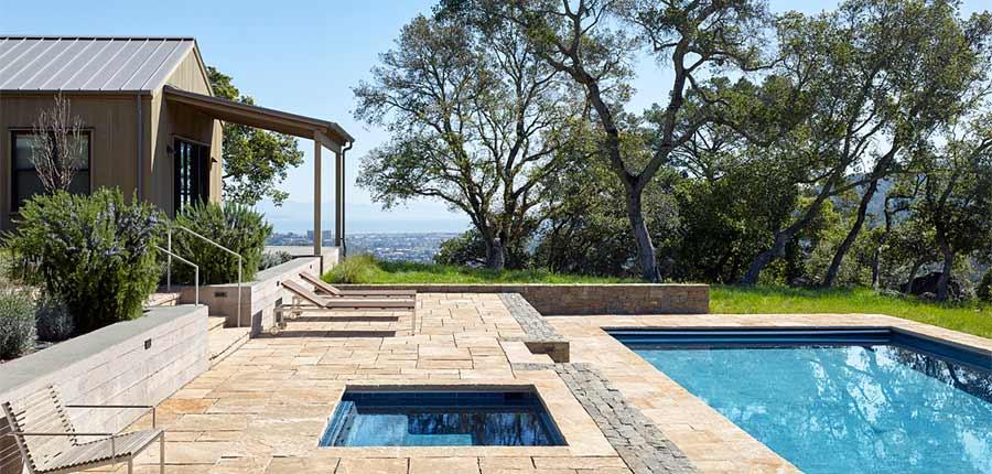 Marin Hills Residence Scott Lewis Landscape Architecture