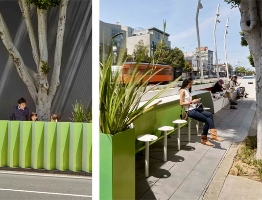 The 3rd street Flashlight is a new form of public space that confronts limitation and conventions with ingenuity and embedded intelligence.