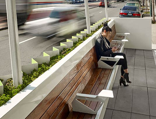 The Flashlight channeled the large scale absence of public space and translated it to a meaningful, human scaled place emitting urban design cues.